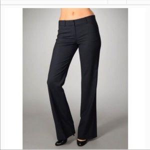 THEORY Alford Wool blend Black Dress Pants